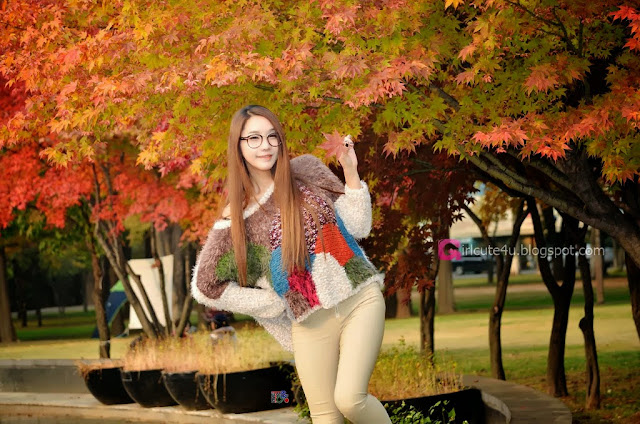 5 Jeon Da Huin Autumn - very cute asian girl-girlcute4u.blogspot.com