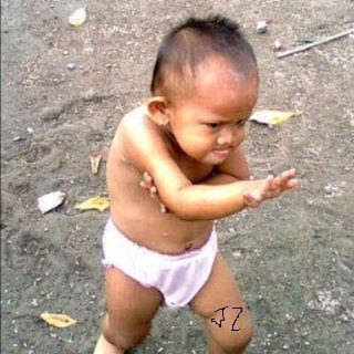 kungfu kid, funny pic, kids, new kungfu style, jokes, funny pictures