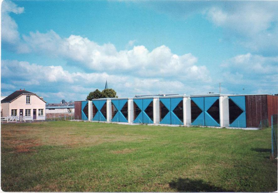 Architectures de cartes postales 1 caneton versus tournesol for O piscine de martin