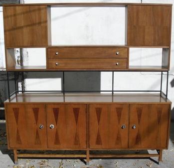 Mid Century Buffet / Credenza / Sideboard by Stanley Fine Furniture on vintage danish modern furniture, danish modern dining chairs, danish modern bedroom furniture, vintage danish teak furniture,