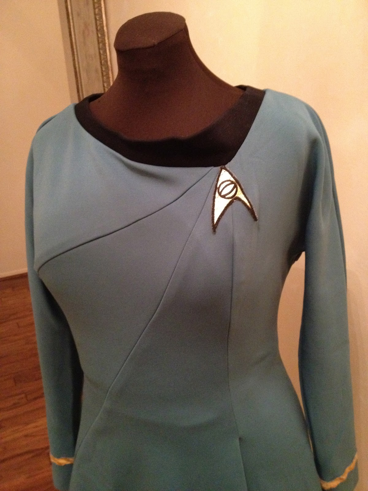 Maggie\'s Costume Wardrobe: Star Trek uniform
