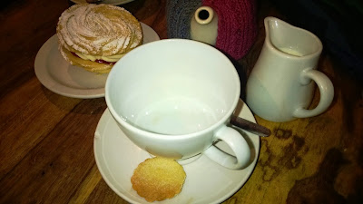 tea and biscuits in Brighton