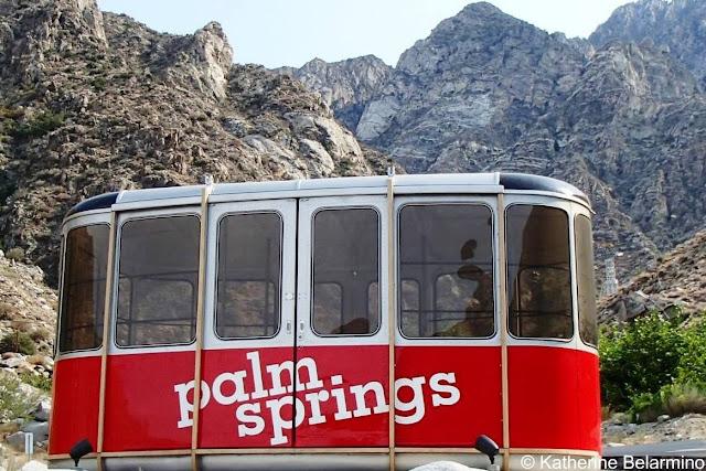 Original Palm Springs Aerial Tramway Tramcar