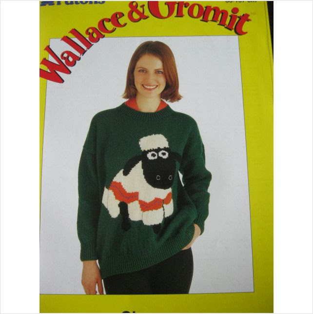 V & M: Wallace and Gromit knitting patterns