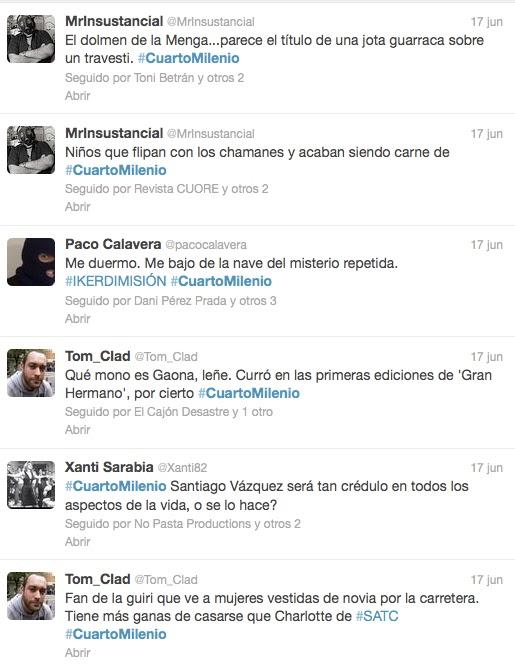 Bichos raros la maldici n del cuarto izquierda for Twitter cuarto milenio