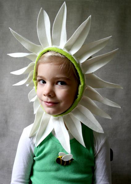 Цветы на голову для девочек из бумаги