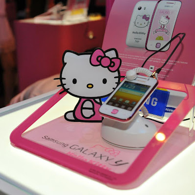 Samsung Galaxy Y Pink Hello Kitty Limited Edition - SOLEHEENDOTCOM