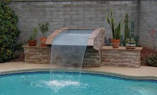Lindas cascatas para piscinas