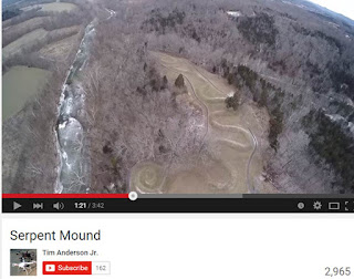 Serpent Mound Youtube Video Screenshot by Tim Anderson Jr.