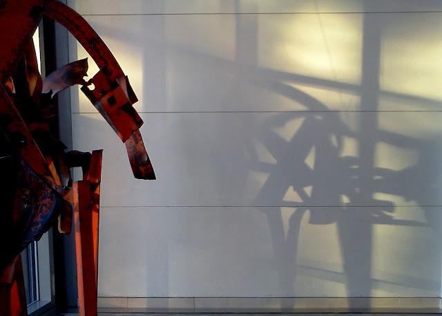 Horse Sculpture, Shadow, peabody essex museum, salem, massachusetts