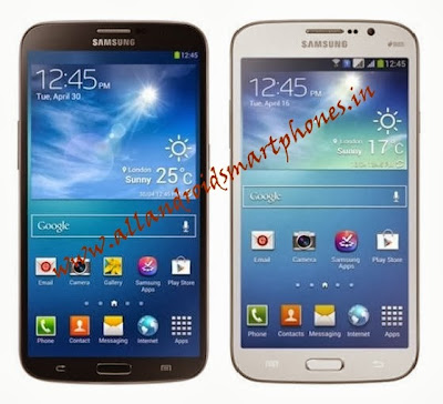 Samsung Galaxy Mega 5.8 I9152 3G Android Phablet Front Black White Images & Photos Review