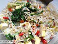 Memasak Sayur Toge + Tahu menggunakan Rice Cooker