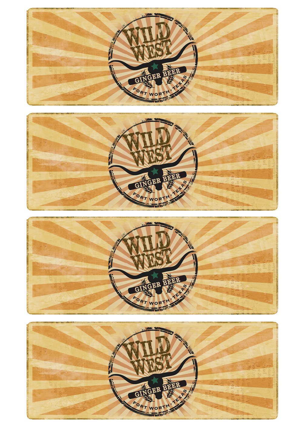 Great Fun etc: Wild West Party How To's (with Free Printables)