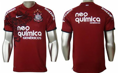 Fotos da nova camisa do Corinthians