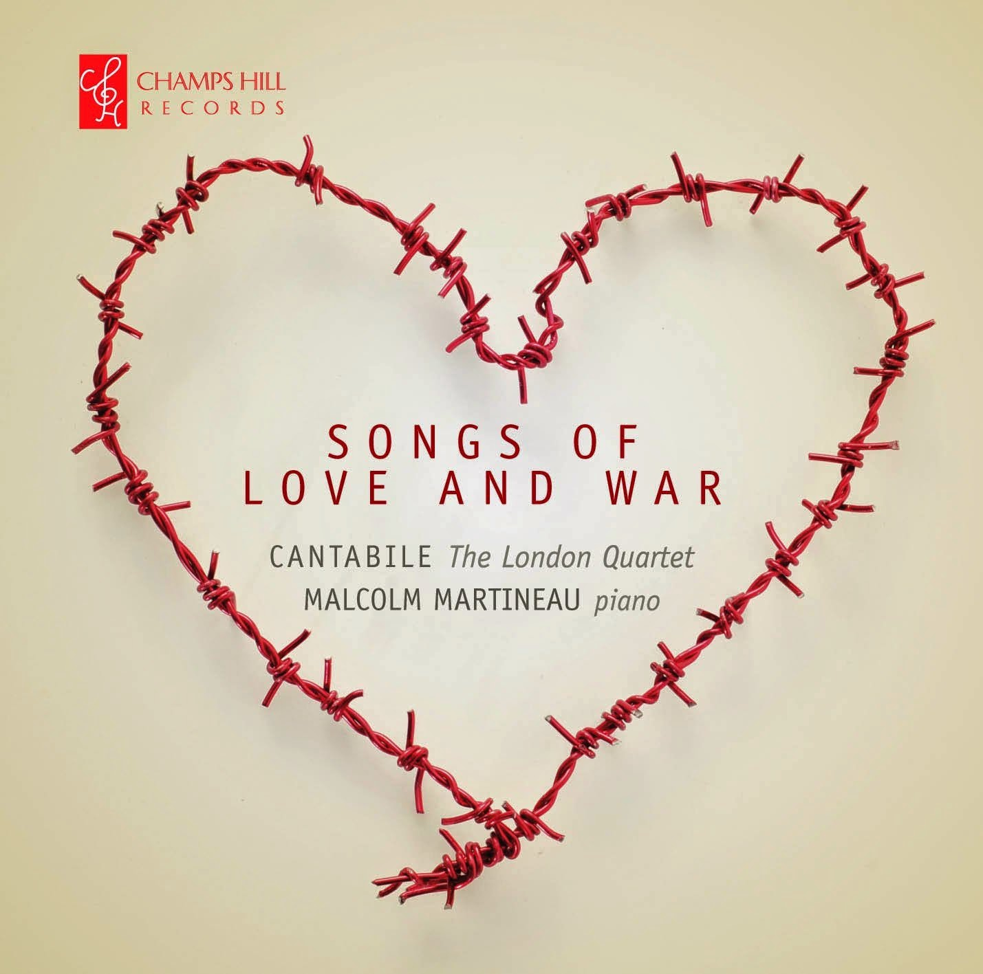 Songs of Love and War - Champs Hill Records  CHRCD074