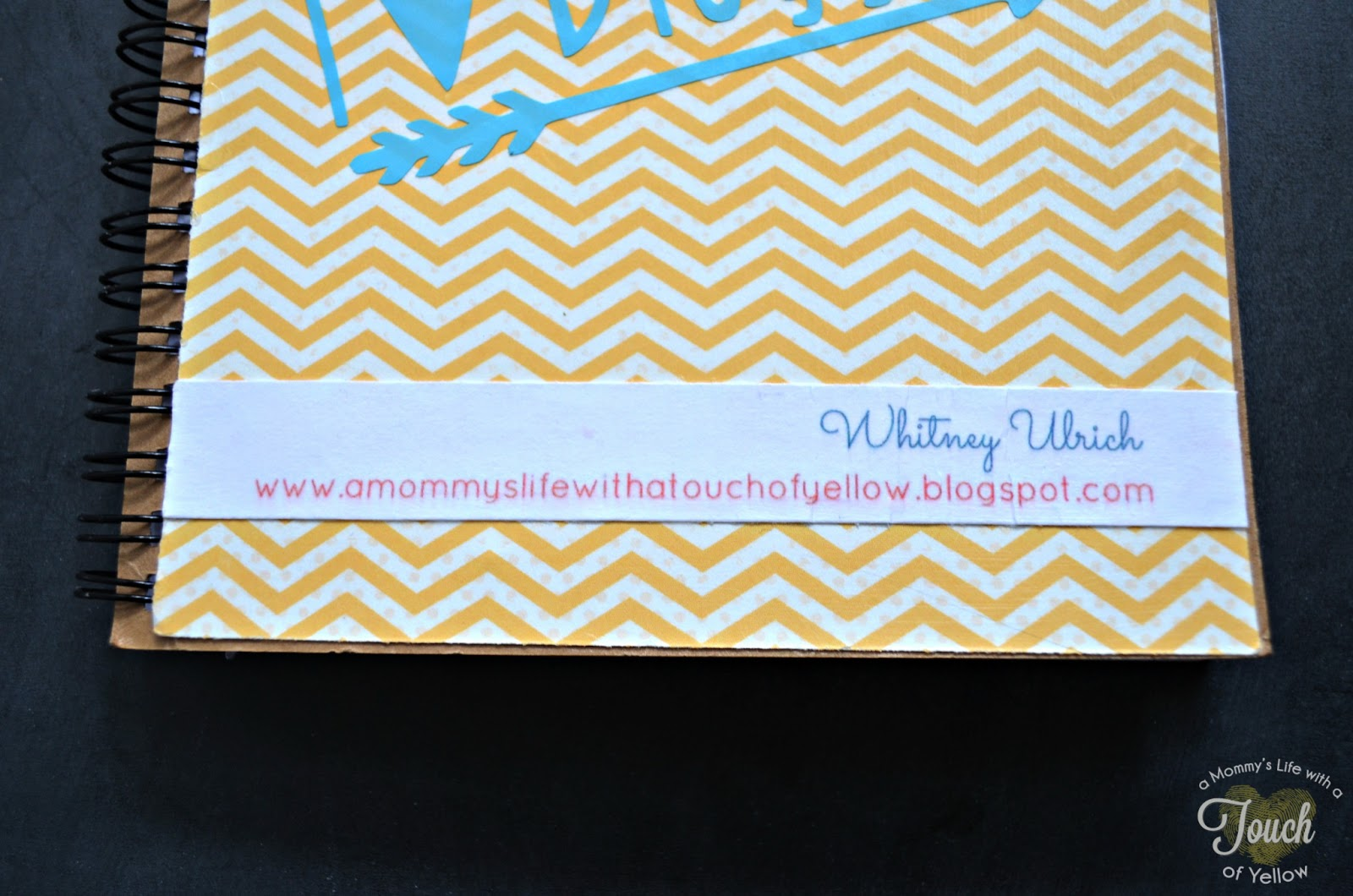 how to make a notebook out of business cards