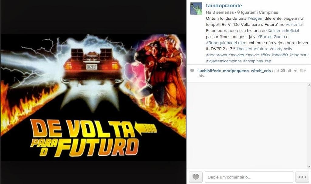 De Volta para o Futuro no Cinemark