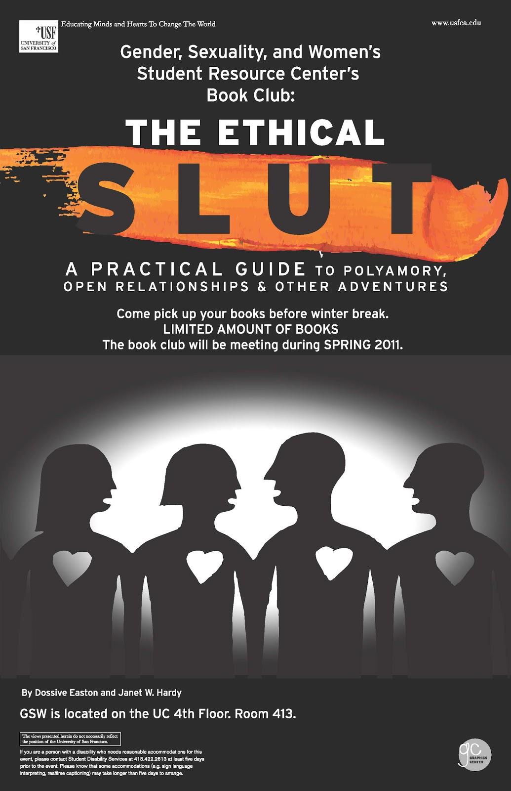 The Graphics Center: GSWSRC Book Club: The Ethical Slut