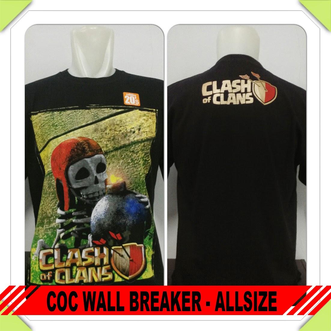 Baju COC Wall Breaker