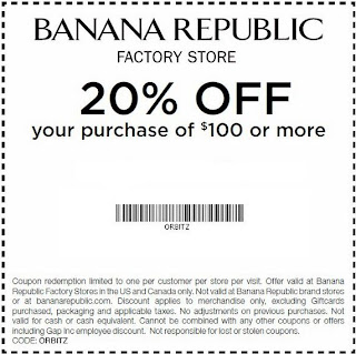 banana republic printable coupons