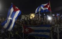 (Videos) Multitudinario tributo a Fidel Castro desde la Plaza de la Revolución en La Habana