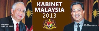 Senarai penuh menteri kabinet dan timbalan menteri