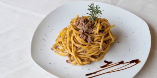 comer en venecia: bigoli con anatra