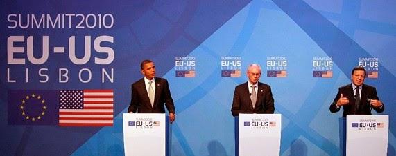 Obama asiste después de 3 años a la Cumbre entre Estados Unidos y la Unión Europea con el único fin de acelerar y relanzar las negociaciones sobre el Acuerdo de Comercio Transatlántico TTIP