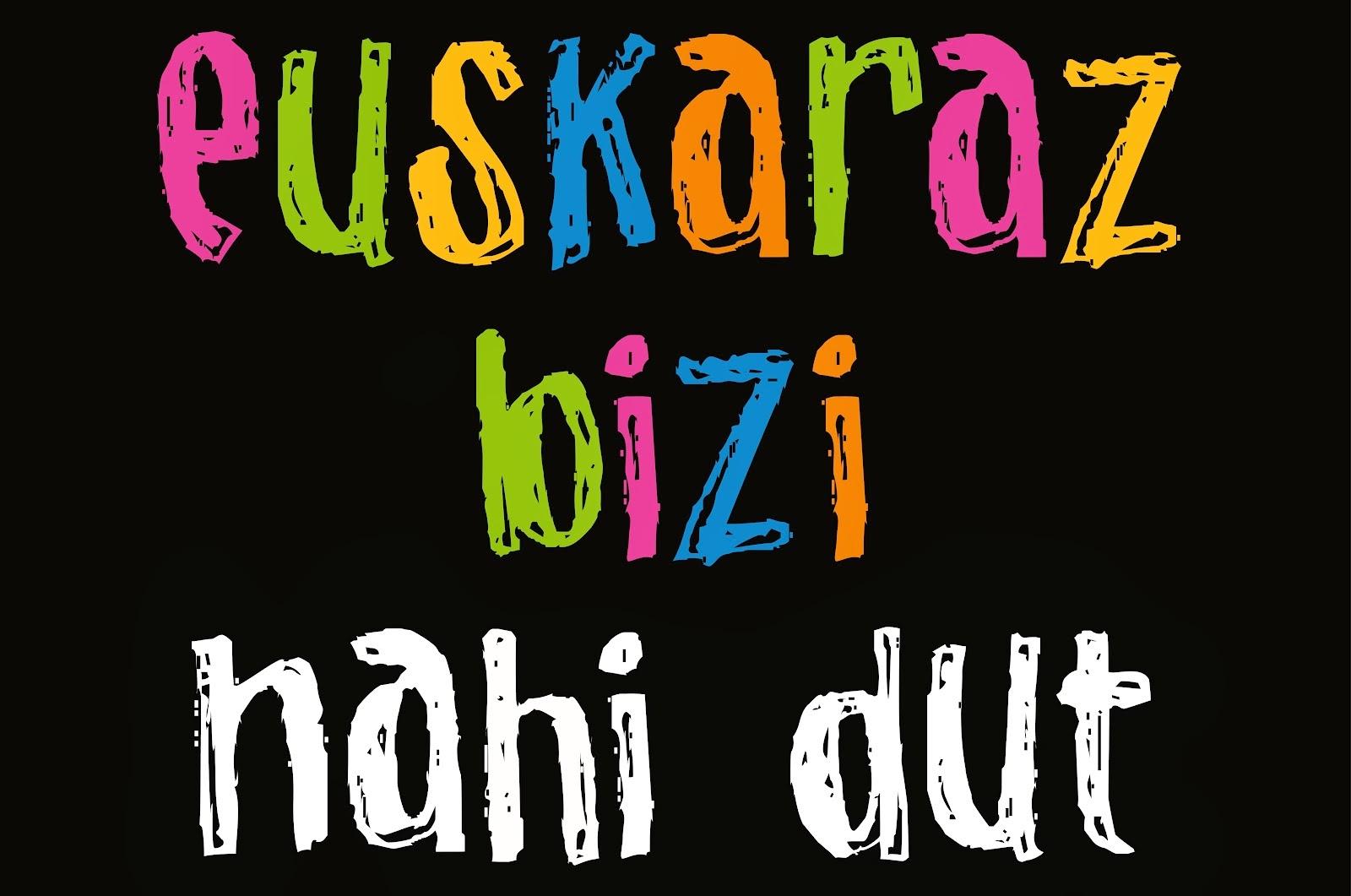 Quiero aprender euskera.