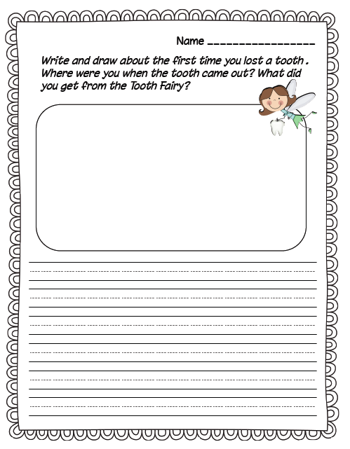 free printable draw and write paper