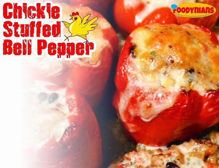 chicken-stuffed-bell-pepper