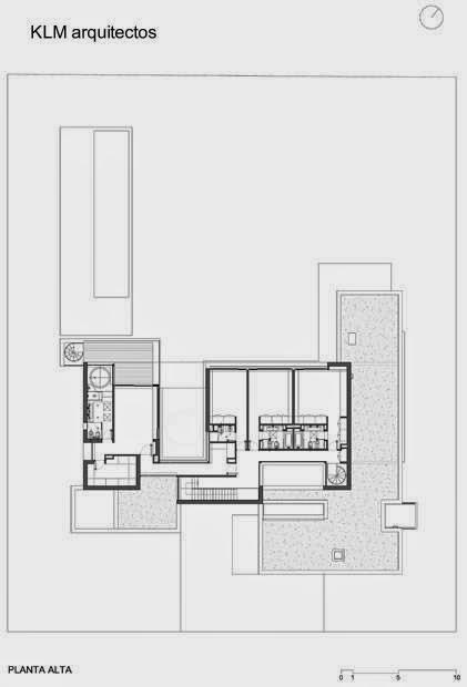 Plano planta alta Casa BR
