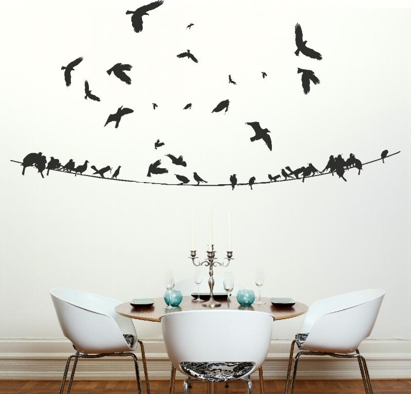 Relas wall sticker cambia il look dell 39 ambiente in un - Adesivi per pareti camera da letto ...