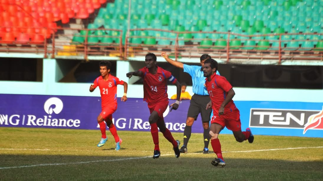 Churchill Brothers beat Mohun Bagan Federation Cup 2014