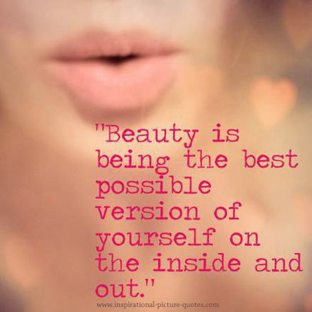 Picture Quote On Beauty