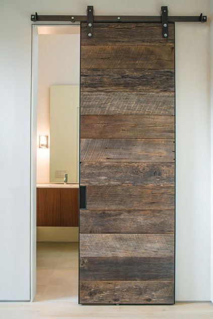 Design For Home Modern Cement Decor SLIDING BARN DOORS HOME DECOR