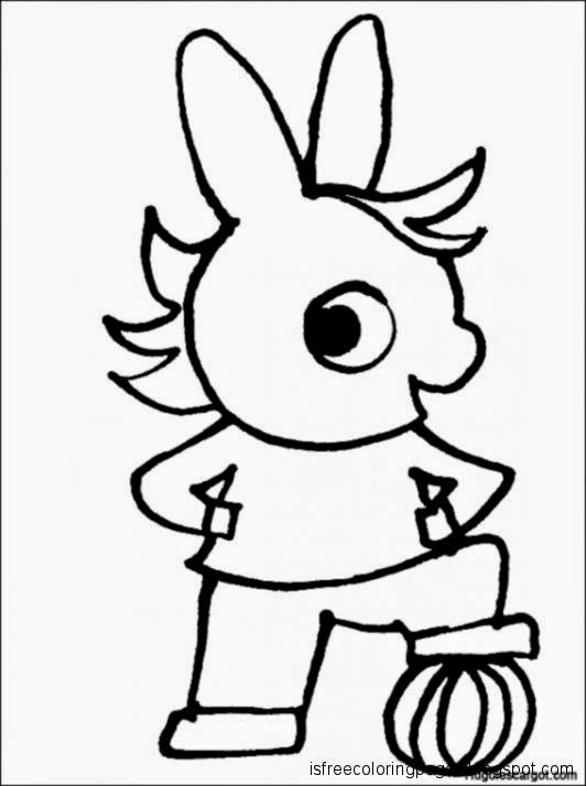 Trotro Coloring Pages Free Coloring Pages
