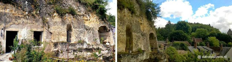Casa troglodita cueva en Amboise Francia