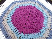 Alfombra de crochet