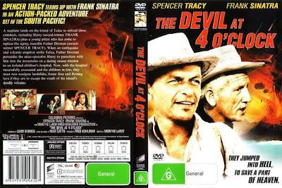 El diablo a las cuatro (1961) , Caratula cine clásico