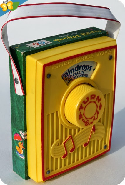 La Radio - Pocket Radio - Music Box - Fisher-Price