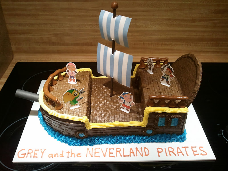 The Ozinga Outlook Jake and the Neverland Pirates Cake