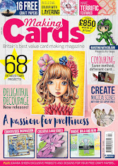 Published in Making Cards Magazine May 2016