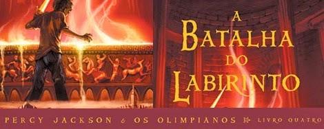 a batalha do labirinto de Rick Riordan o terceiro livro da série Percy Jackson