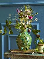 Есенна аранжировка на ваза