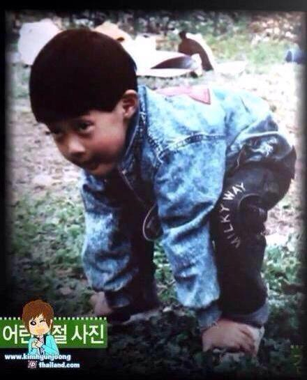 كيم هيون جونغ الطفل