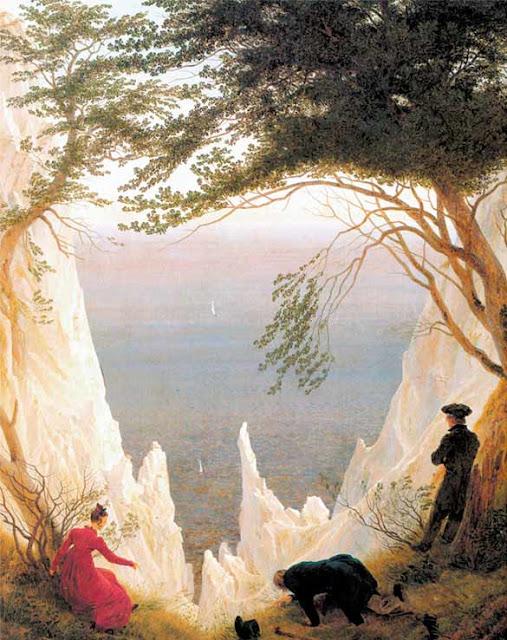 acantilados blancos de rugen