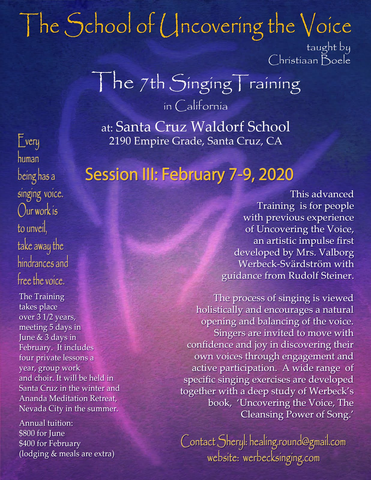 7th Foundational Singing Training