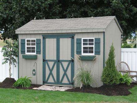 Sheds unlimited llc august 2011 for Amish built sheds