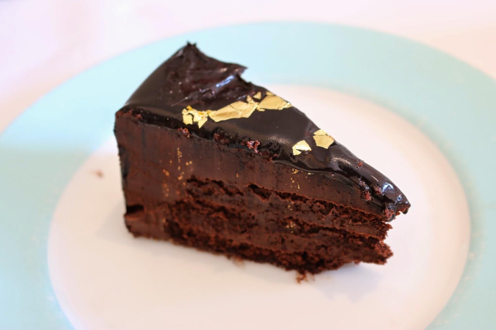 Fortnum & Mason Diamond Jubilee Tea Salon - Chocolate Cake